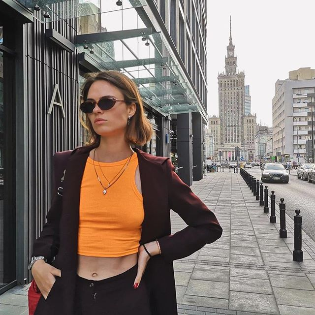 90'  #warsaw #summer #fashion #90s #model #style #photo #photooftheday #warm #pkin #shooting #walking #clouds #holidays #mood #old #sunglasses #street #streetwear #streetphotography