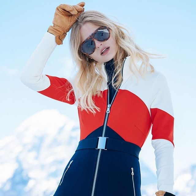 Still about mountains 📷 @spencerostrander @cordova.co @anger_models #photoshoot #model #mountains #portillo #chile #snow #ski #clothes #winter #blonde #girl #sunglasses