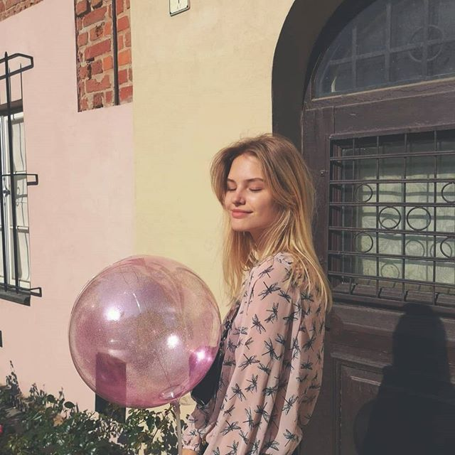 It's nice to be born in this day when Paris sky is ablazed with fireworks. #tb #last #summer #birthday #20 #pink #balloon #was #best