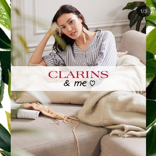 Me for ❤️ @clarinsofficial @citymodels @clarinsuk @clarinssg @clarinshk @clarinsjp @clarinsswitzerland