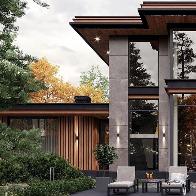Дом ❤️ #arhitecture #style #design #house