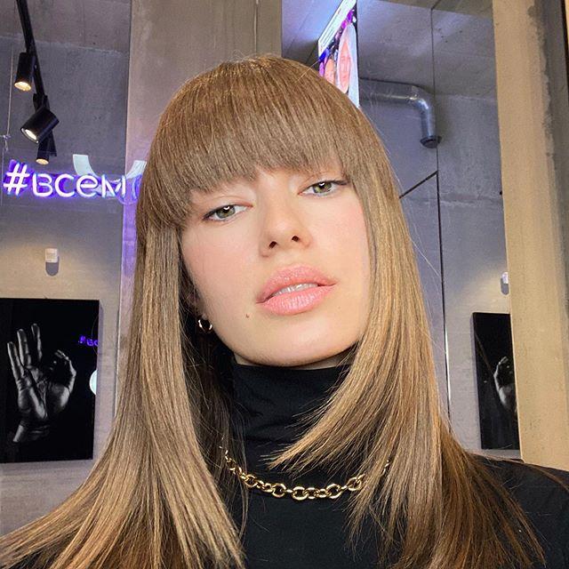 @bublik.hairproject @shim_anastasiya 💇😁🙈🌸 #moscow#russia#hairstyle#всембублик