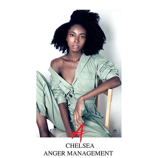 #Repost @anger_models ・・・ CHELSEA  ANGER MANAGEMENT  starring @chelsea.elise.jordan 🔥 image @jen_sheroky 🎥 styling @xeniabelskaya 👘 mgmt @anger_models 🅰️  #model #dancer #choreographer #afro #warsaw #warsawgirl #image #photography #naturalhair  #blackgirlmagic